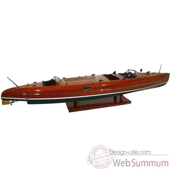 Maquette Runabout Americain-Typhoon- Collection Riva - RTYPH50