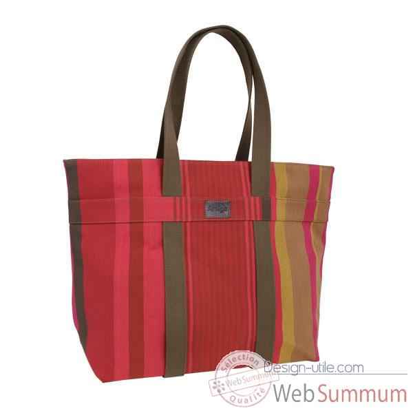 Sac carre sangle Artiga Ainhoa coton