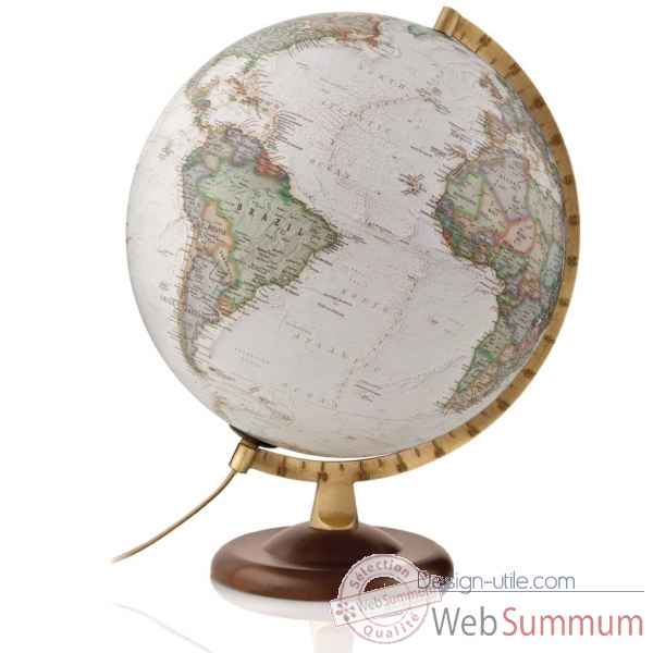 Globe gold executive national geographic lumineux