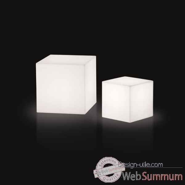 Lampe design design piantana cubo rouge lampe ip55 SD FCC150