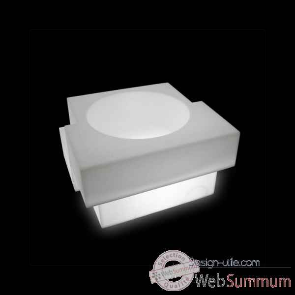 Pot design design cubic yo lumineux LP CUY046