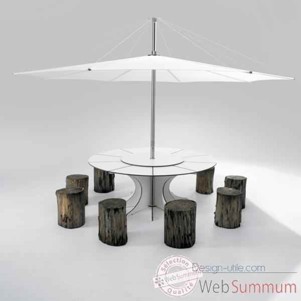 Table ronde 12 personnes design pas cher table ronde 12 for Table exterieur 10 personnes