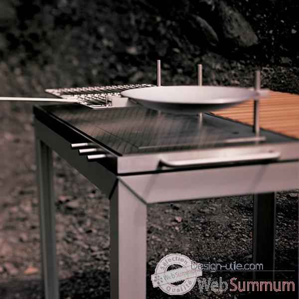Table barbecue ExTempore Extremis Carree -ETBQ