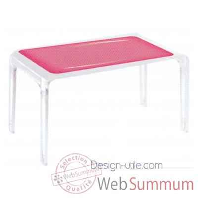 Table Design Baby Gloss Rose Aitali