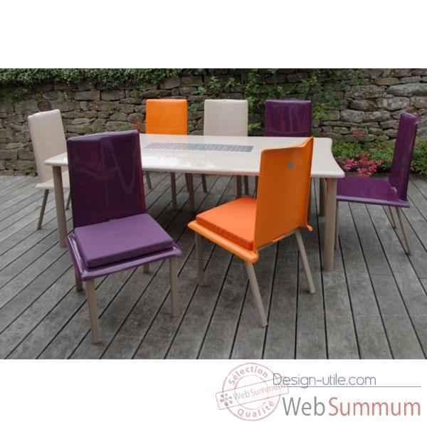 table rectangulaire art mely pieds laqu s am005 photos design utile de art mely. Black Bedroom Furniture Sets. Home Design Ideas
