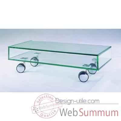 table t l 90x40x25 marais pour cran plat en verre tremp. Black Bedroom Furniture Sets. Home Design Ideas