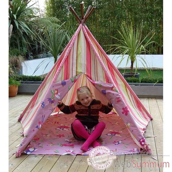 tipi tente pour enfant maison des elfes the old basket. Black Bedroom Furniture Sets. Home Design Ideas