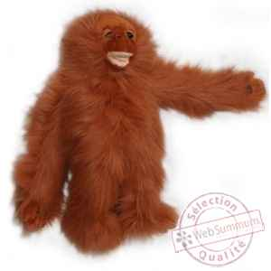 Grande peluche marionnette orang-outan (bebe) -PC007302 The Puppet Company