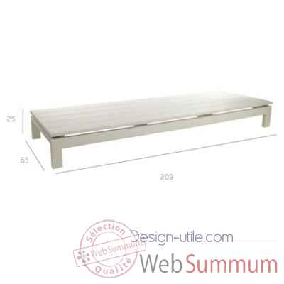 Kos off-white repose-pieds daybed Tribu -Tribu37