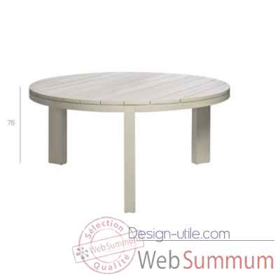 Kos off-white table ronde Tribu -Tribu40