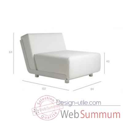 Mirthe sofa module extension Tribu -Tribu53
