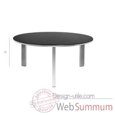 Mystral round table dia 160cm Tribu -Tribu73