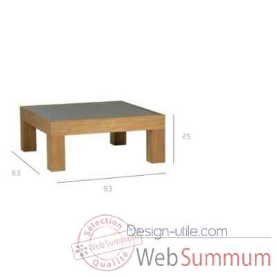 Pure sofa table de salon Tribu -Tribu145